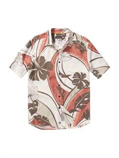 RQS0Men s Baracoa Coast Short Sleeve Shirt by Quiksilver - FRT1