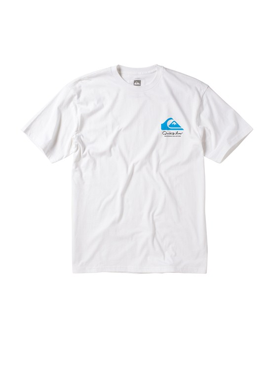 WBB0Men s Aganoa Bay Short Sleeve Shirt by Quiksilver - FRT1