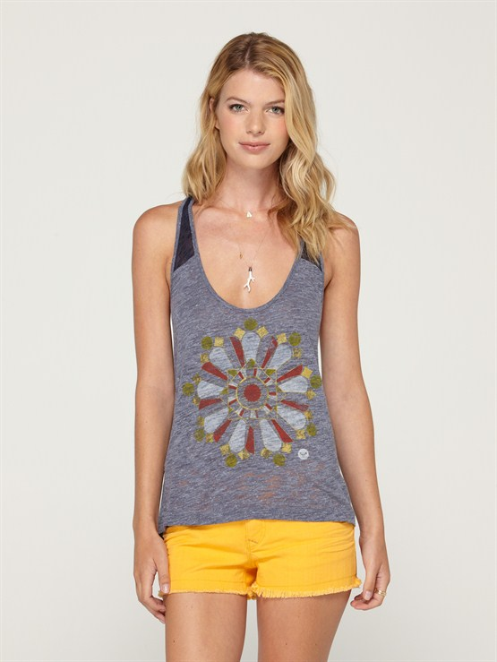 BTN0ALL ABOARD TANK TOP by Roxy - FRT1