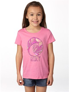 MHT0Girls 2-6 Block Rocks Harmony Tee by Roxy - FRT1