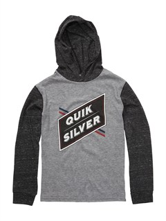 KPF0Boys 2-7 Old Brew Long Sleeve Hooded T-Shirt by Quiksilver - FRT1