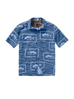 BRD0Men s Aganoa Bay Short Sleeve Shirt by Quiksilver - FRT1