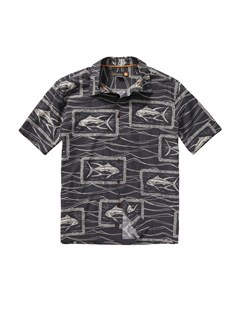 KRP0Crossed Eyes Short Sleeve Shirt by Quiksilver - FRT1