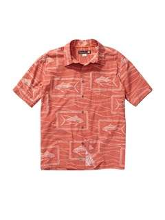 MLP0Men s Aganoa Bay Short Sleeve Shirt by Quiksilver - FRT1