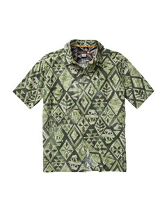 GPL0Crossed Eyes Short Sleeve Shirt by Quiksilver - FRT1
