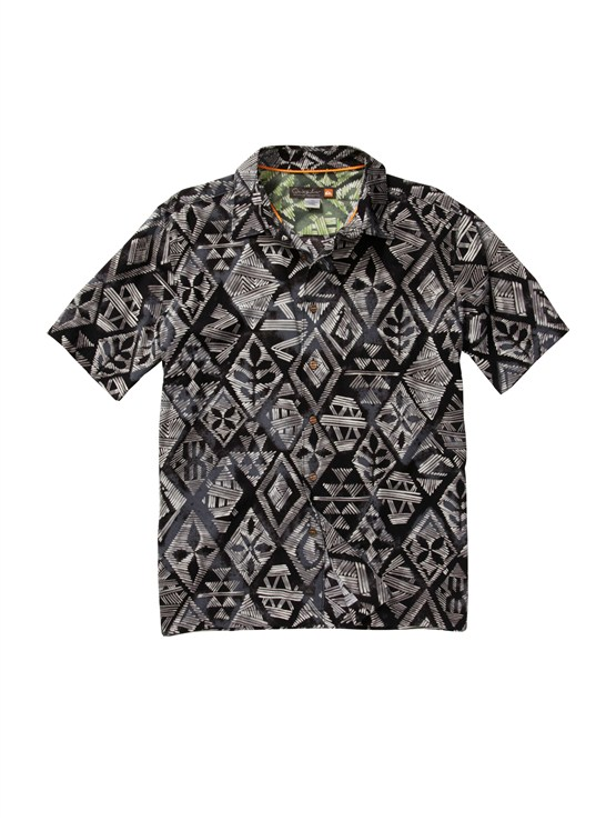 KVJ0Men s Aganoa Bay Short Sleeve Shirt by Quiksilver - FRT1