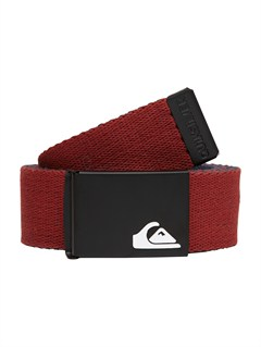 CQN0Sector Leather Belt by Quiksilver - FRT1