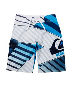 WBB6Boys 8- 6 Kelly Boardshorts by Quiksilver - FRT1