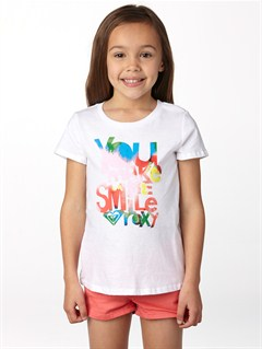 WBB0Girls 2-6 Dolphin Splash Tee by Roxy - FRT1