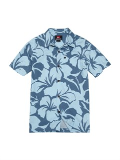 BFG6Boys 8- 6 Keoka Beach Short Sleeve Shirt by Quiksilver - FRT1
