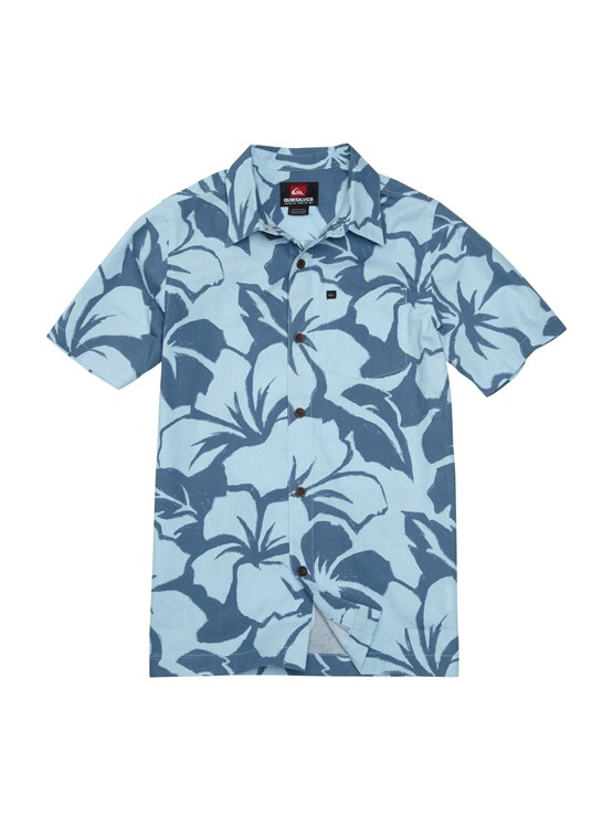 BFG6Boys 8- 6 Haano Short Sleeve Shirt by Quiksilver - FRT1