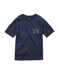 KTP0Boys 2-7 Checkers T-Shirt by Quiksilver - FRT1