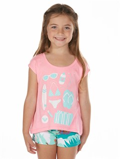 PNPGirls 2-6 Block Rocks Harmony Tee by Roxy - FRT1