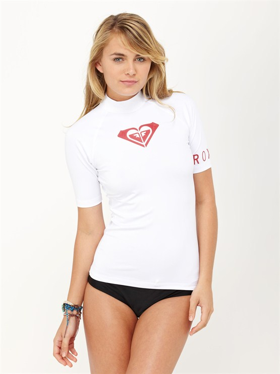 WHTBasically Roxy SS Rashguard by Roxy - FRT1