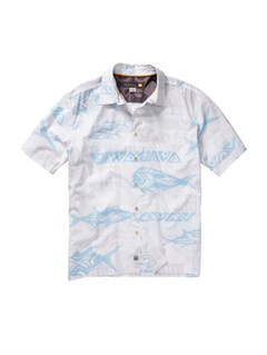 WBB0Men s Anahola Bay Short Sleeve Shirt by Quiksilver - FRT1