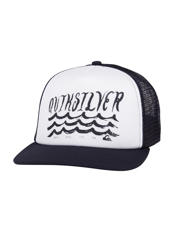 BRQ0Empire Trucker Hat by Quiksilver - FRT1