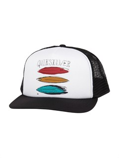 KVC0After Hours Trucker Hat by Quiksilver - FRT1