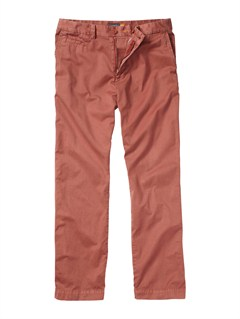 REDMen s Brizzie Chino Pants by Quiksilver - FRT1