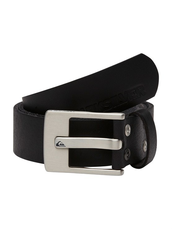 BK1Sector Leather Belt by Quiksilver - FRT1