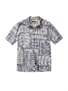 BSN0Men s Baracoa Coast Short Sleeve Shirt by Quiksilver - FRT1