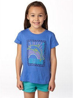 PND0Girls 2-6 Bangalow H Tee by Roxy - FRT1