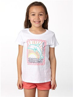 WBB0Girls 2-6 All Aboard Tee by Roxy - FRT1