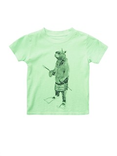 GKQ0Baby Biter Glow in the Dark T-Shirt by Quiksilver - FRT1