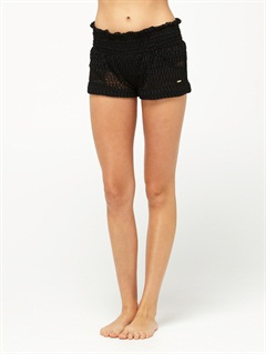 BLKSmeaton Denim Print Shorts by Roxy - FRT1