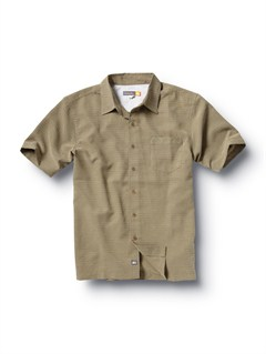 GRNMen s Baracoa Coast Short Sleeve Shirt by Quiksilver - FRT1