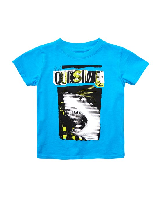 BMJ0Boys 2-7 Crash Course T-Shirt by Quiksilver - FRT1