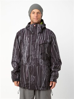BLKIron  0K Shell Jacket by Quiksilver - FRT1