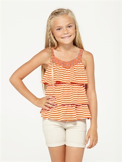 HTOGirls 2-6 Autumn Breeze Criss Cross Halter Set by Roxy - FRT1