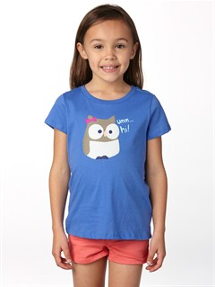 PND0Girls 2-6 Dolphin Splash Tee by Roxy - FRT1