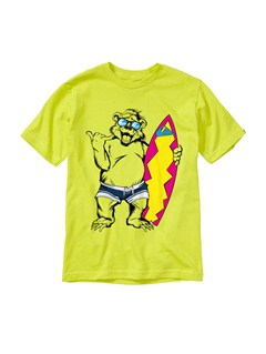 GGP0Baby Biter Glow in the Dark T-Shirt by Quiksilver - FRT1