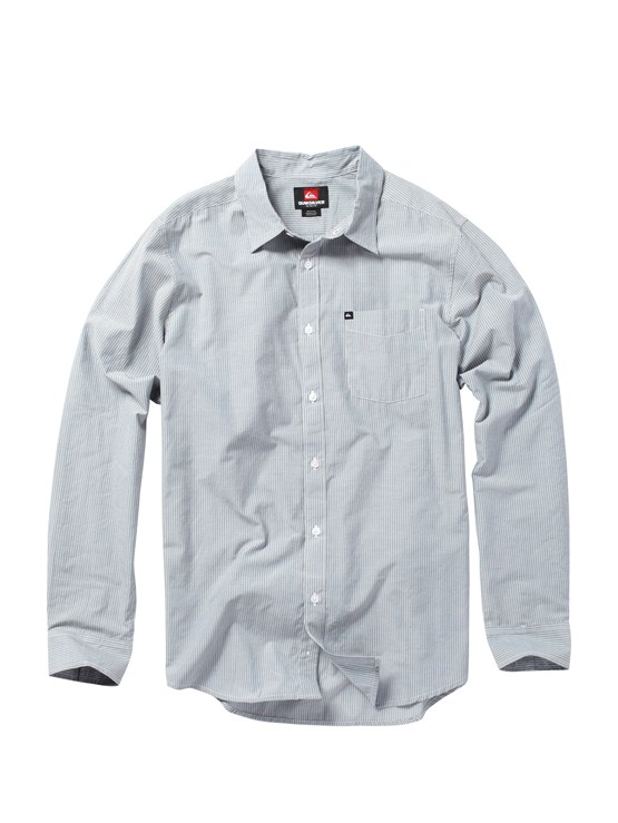 BQR0Meet On Long Sleeve Flannel Shirt by Quiksilver - FRT1