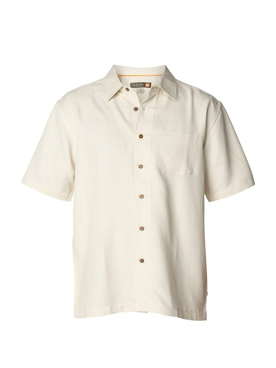 SDT0Men s Aganoa Bay Short Sleeve Shirt by Quiksilver - FRT1