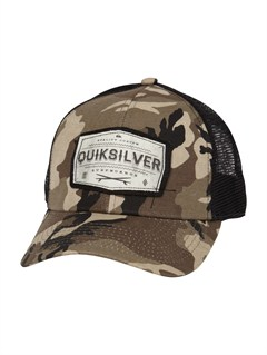 GRA0Empire Trucker Hat by Quiksilver - FRT1