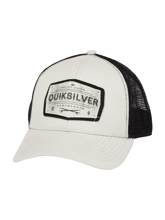 SGR0Please Hold Trucker Hat by Quiksilver - FRT1