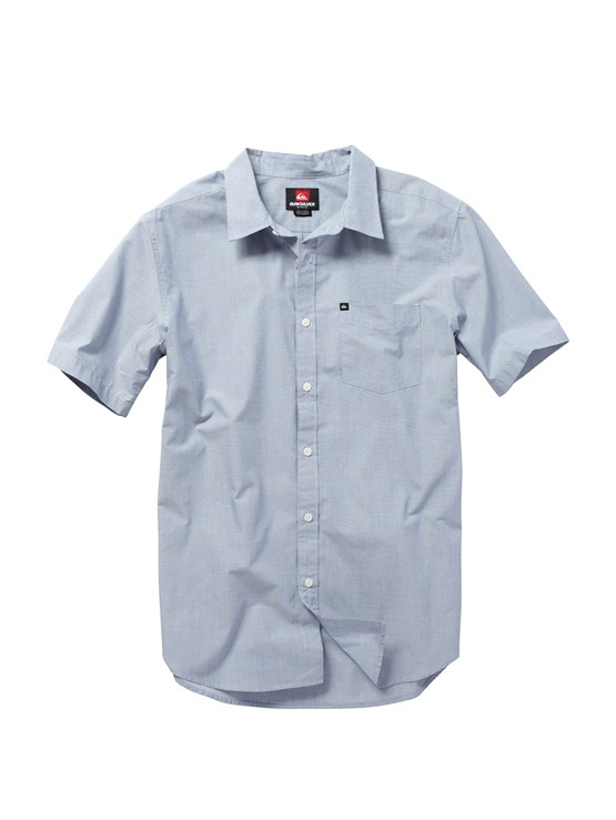 BQR0Fresh Breather Short Sleeve Shirt by Quiksilver - FRT1