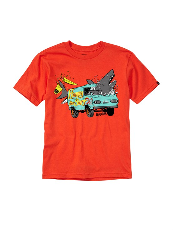 RQF0Boys 2-7 After Hours T-Shirt by Quiksilver - FRT1
