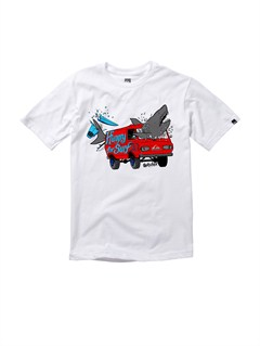 WBB0Boys 2-7 Checkers T-Shirt by Quiksilver - FRT1