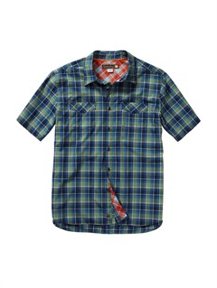BSN0Men s Anahola Bay Short Sleeve Shirt by Quiksilver - FRT1