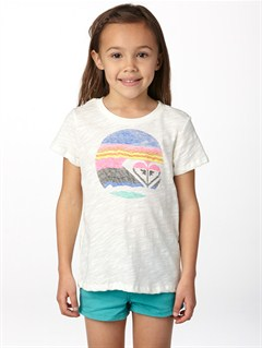 WBS0Girls 2-6 Dolphin Splash Tee by Roxy - FRT1