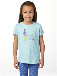 BGD0Girls 2-6 Dolphin Splash Tee by Roxy - FRT1