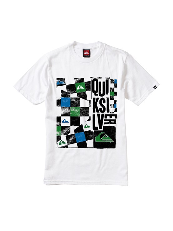 WHTBoys 2-7 Crash Course T-Shirt by Quiksilver - FRT1