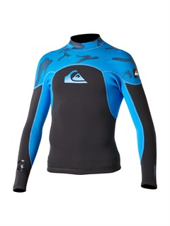 BBLBoys Syncro 3/2mm Back Zip Wetsuit by Quiksilver - FRT1