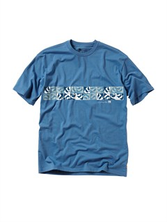BLUA Frames Slim Fit T-Shirt by Quiksilver - FRT1