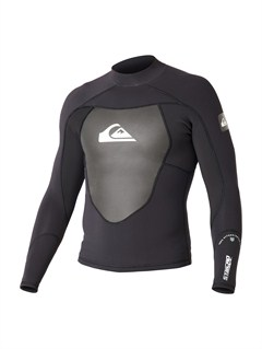 BKWHybrid LS Front Zip Sup Jacket by Quiksilver - FRT1