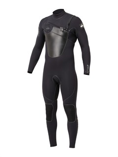 BLKIgnite 4/3 Chest Zip Wetsuit by Quiksilver - FRT1