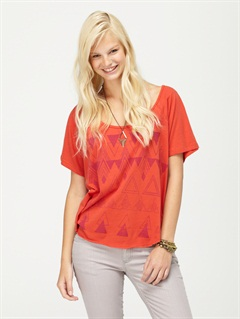 SNTRoxy Wave V-Neck Tee by Roxy - FRT1